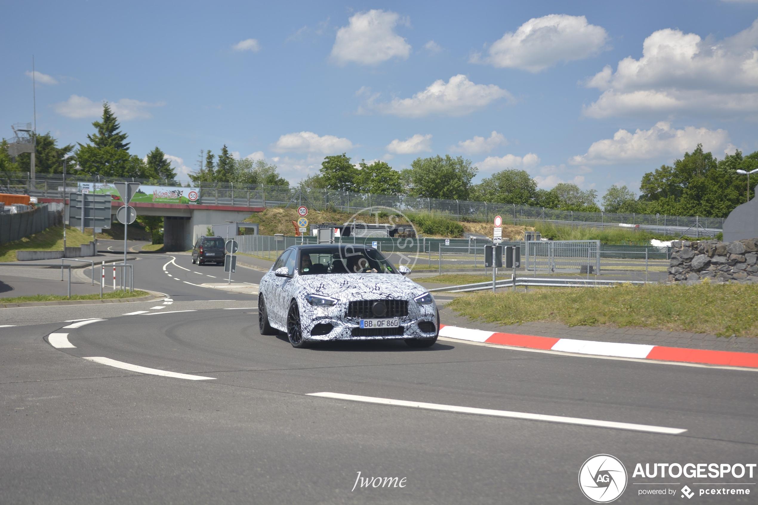 Mercedes-AMG E-klasse Mule