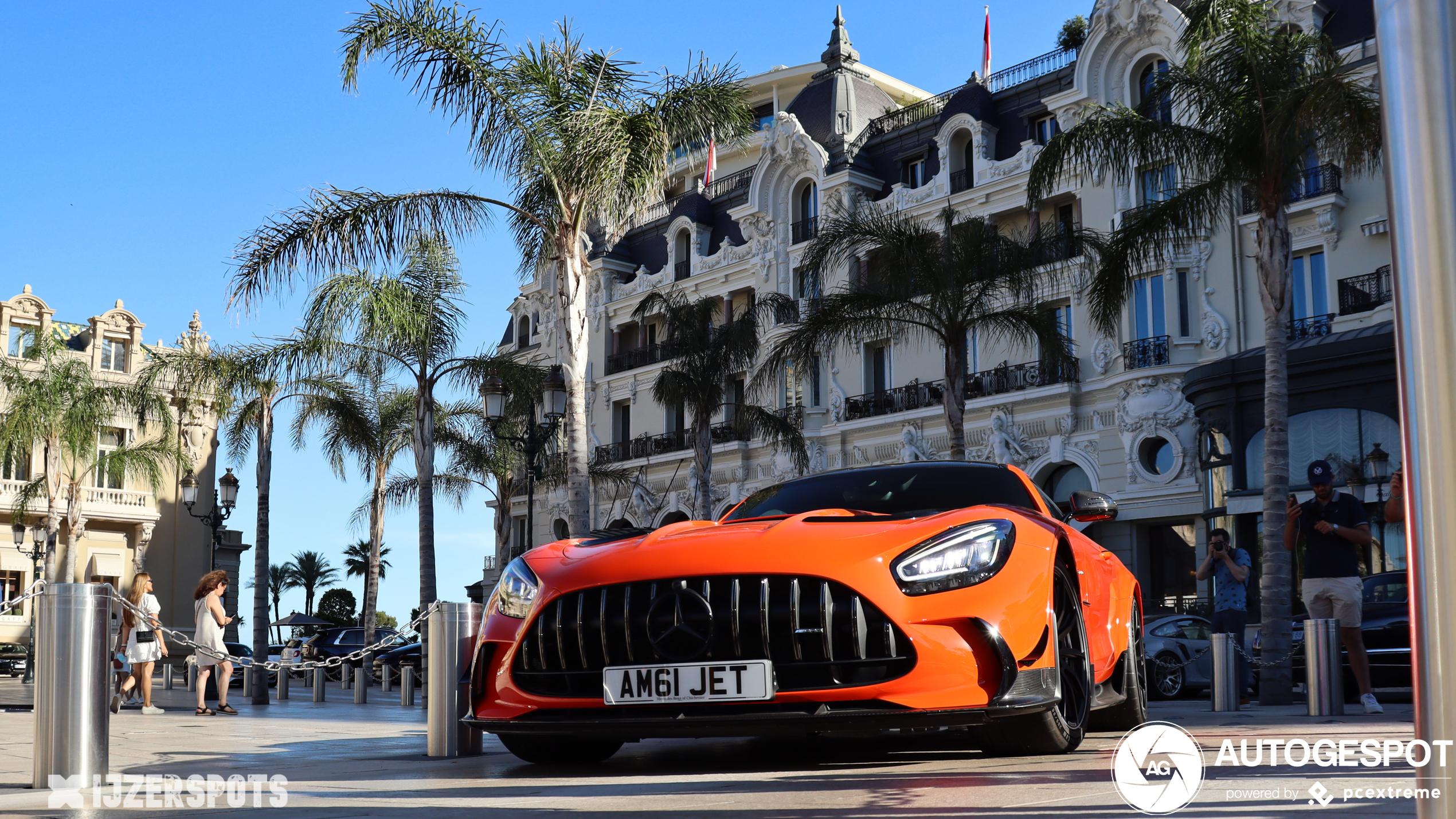 Monaco leeft weer! Mercedes-AMG GT Black Series