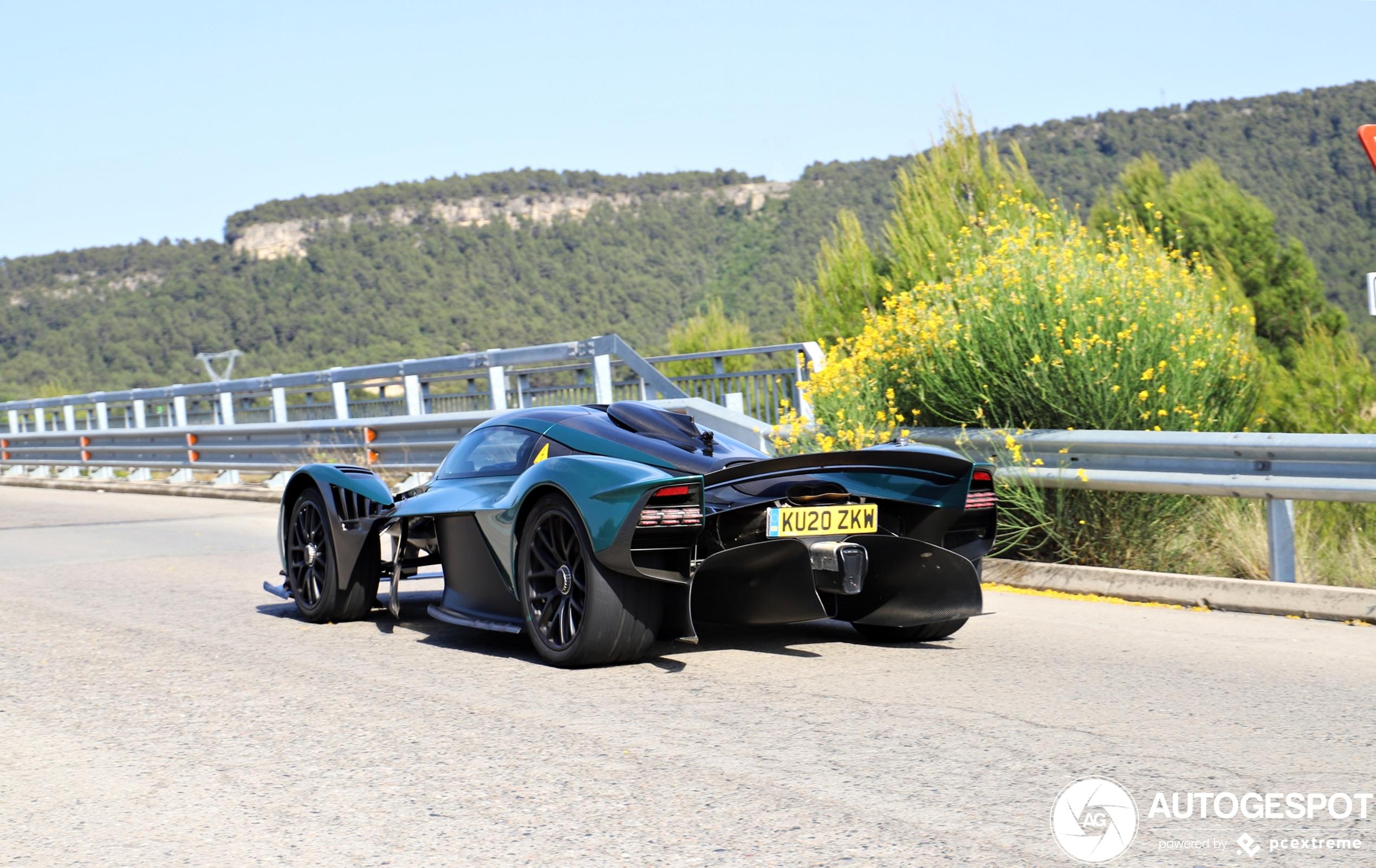 Voor het eerst! Aston Martin Valkyrie
