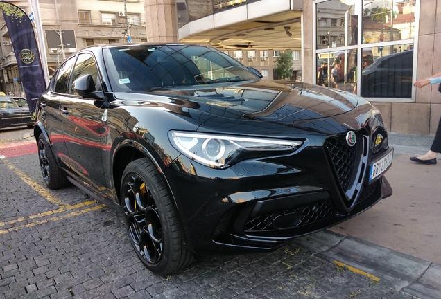 Alfa Romeo Stelvio Quadrifoglio 2020