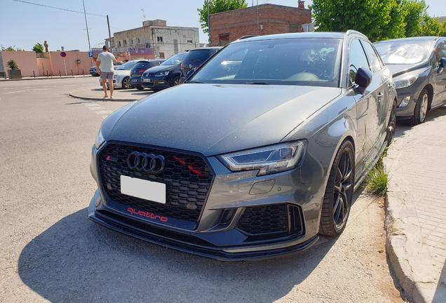Audi RS3 Sportback 8V 2018 Maxton Design