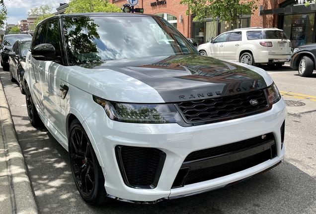 Land Rover Range Rover Sport SVR 2018 Carbon Edition