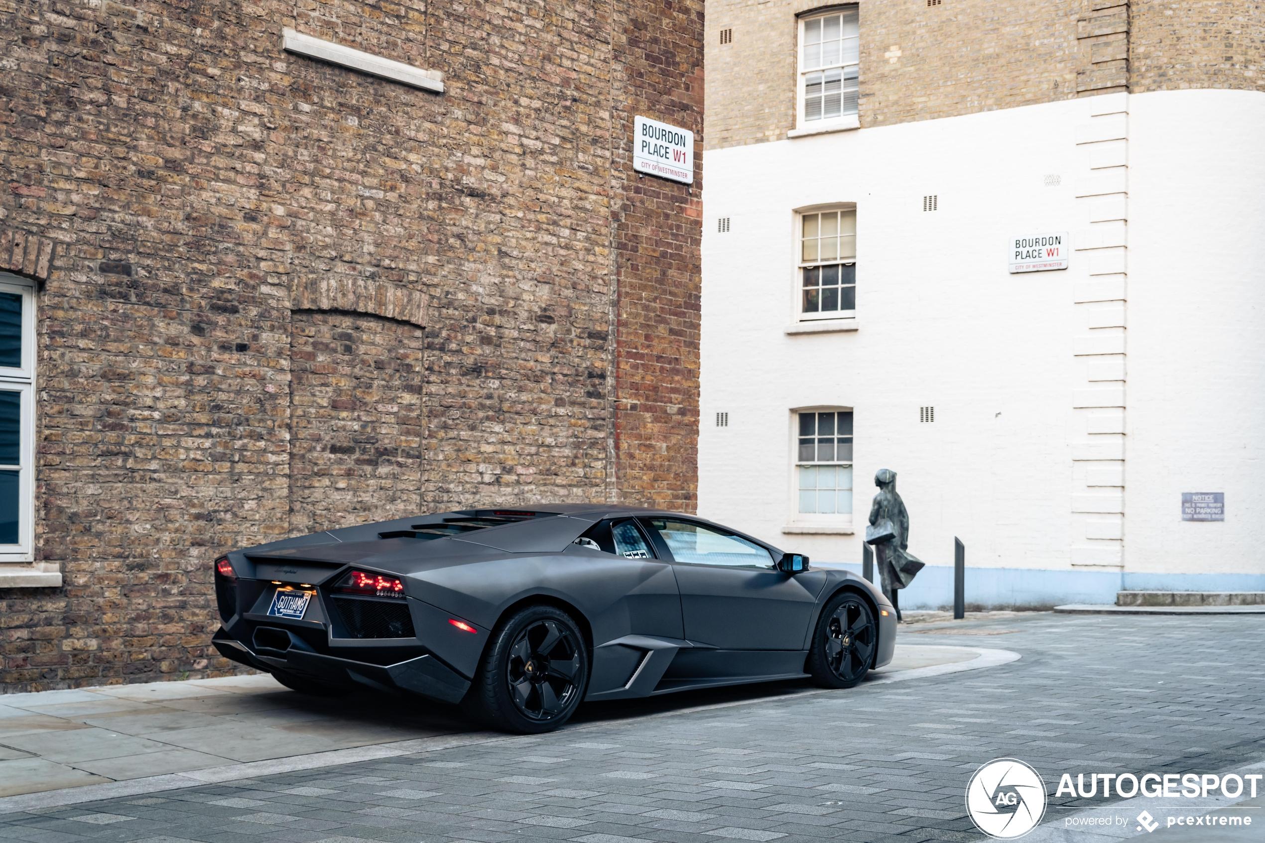Batman nog altijd liefhebber van Lamborghini