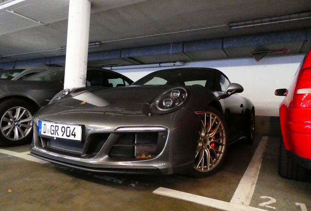 Porsche 991 Targa 4 GTS MkII Exclusive Manufaktur Edition