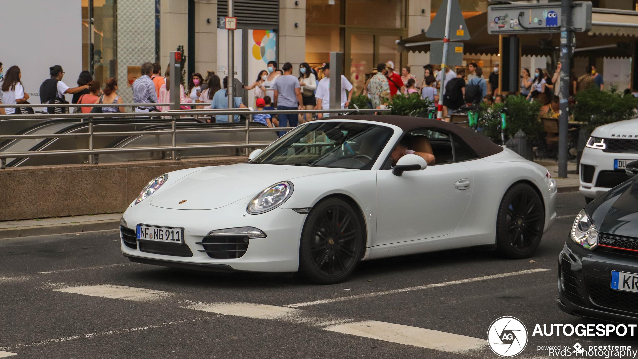 Porsche 991 Carrera S Cabriolet MkI