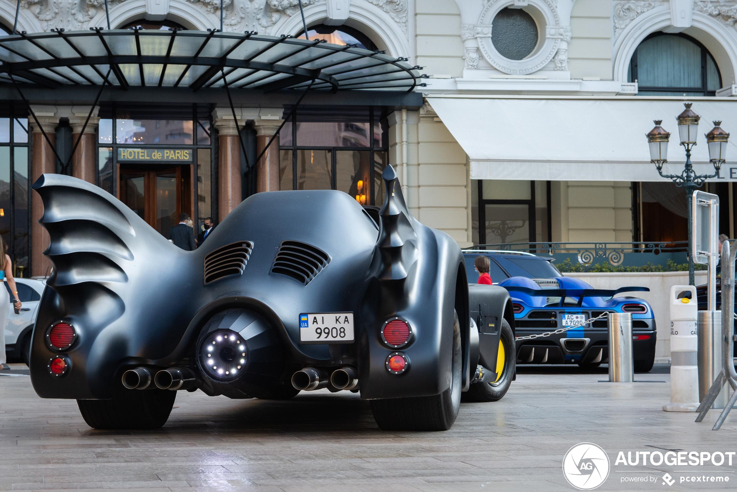 Batman loves Monaco too