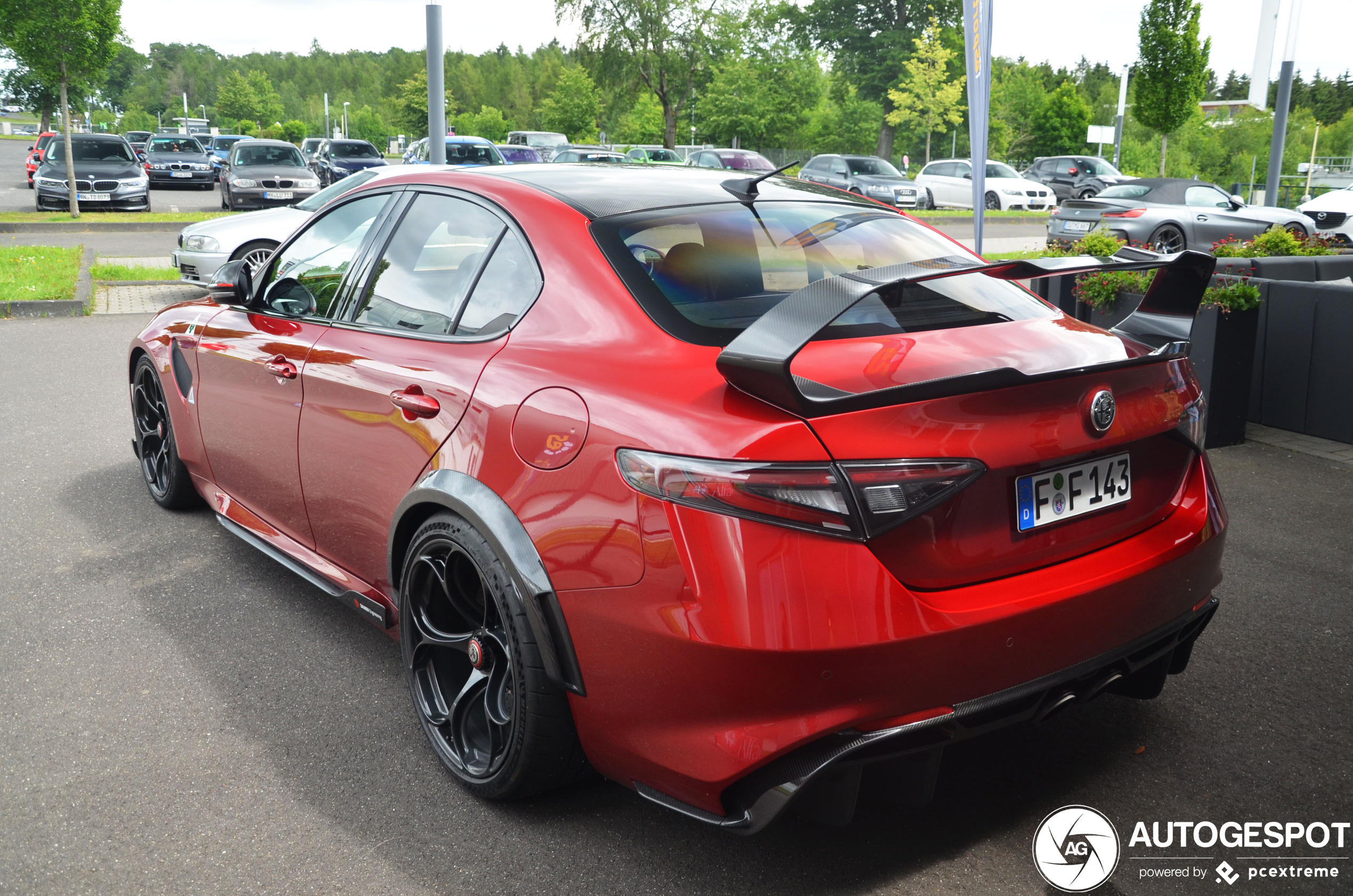 Alfa Romeo Giulia GTAm is op de juiste plek
