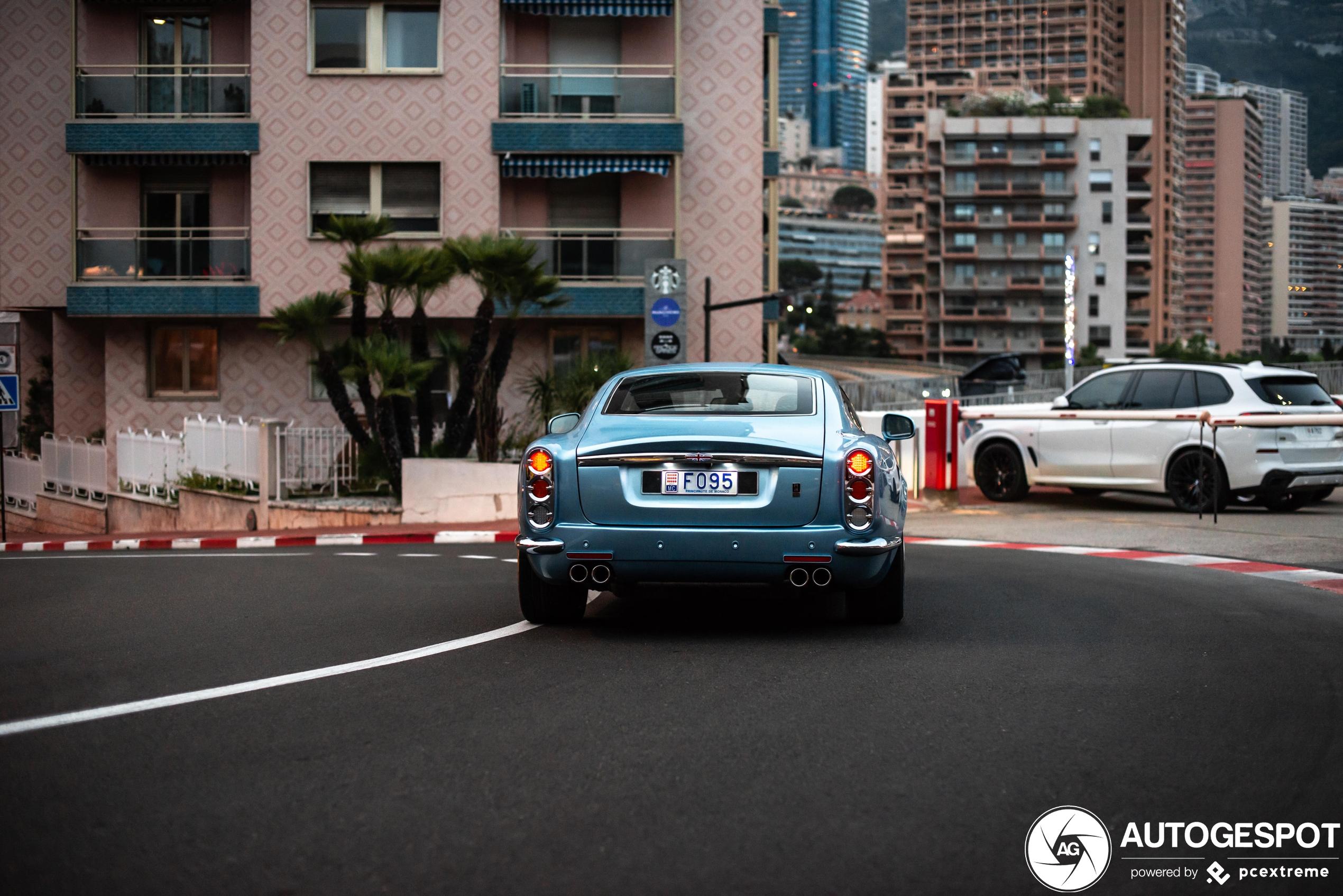 David Brown Speedback GT heeft eindelijk Monegaskisch kenteken