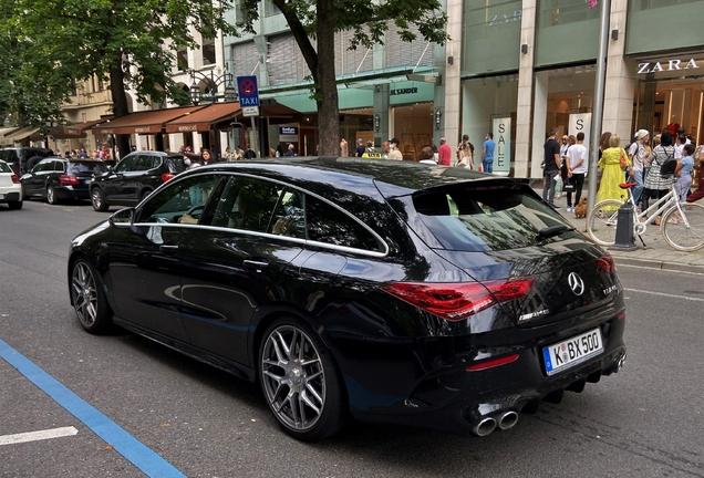 Mercedes-AMG CLA 45 Shooting Brake X118
