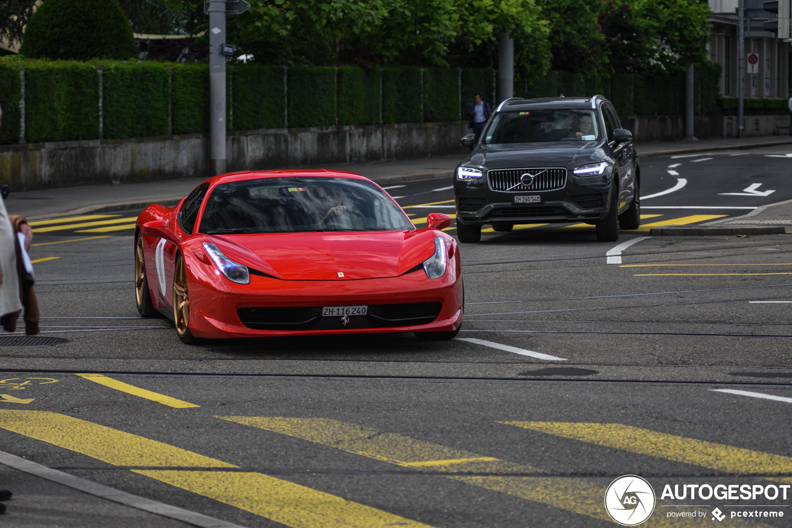 This Ferrari has an identity crisis