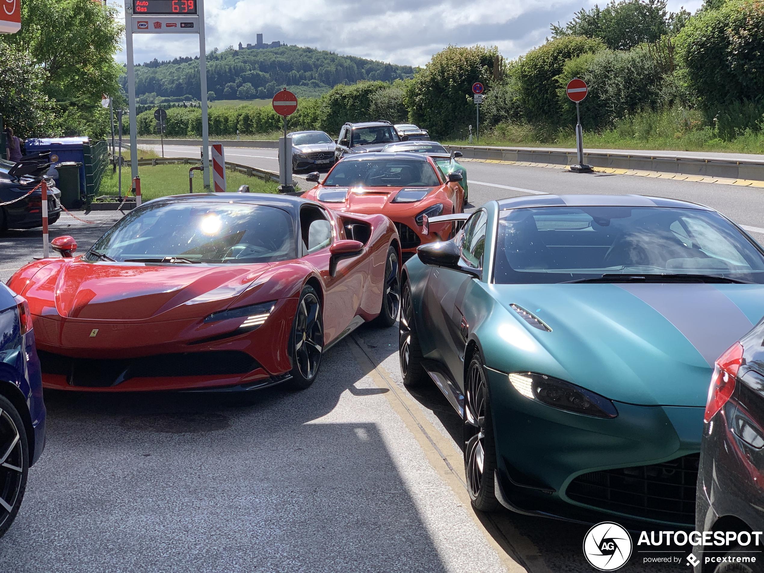 Wie van deze combo is het snelste over de Nürburgring?