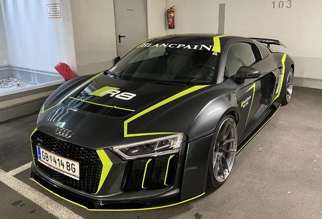 Audi R8 V10 2015 Prior Design PD800WB
