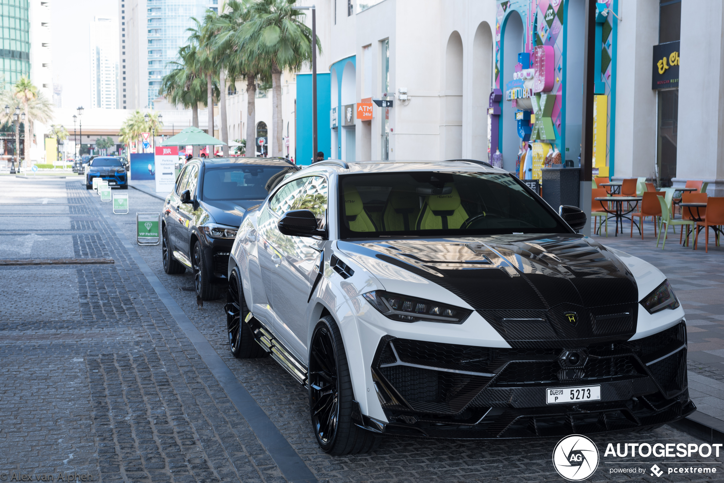 Lamborghini Urus Keyvany Keyrus nu ook te vinden in Dubai