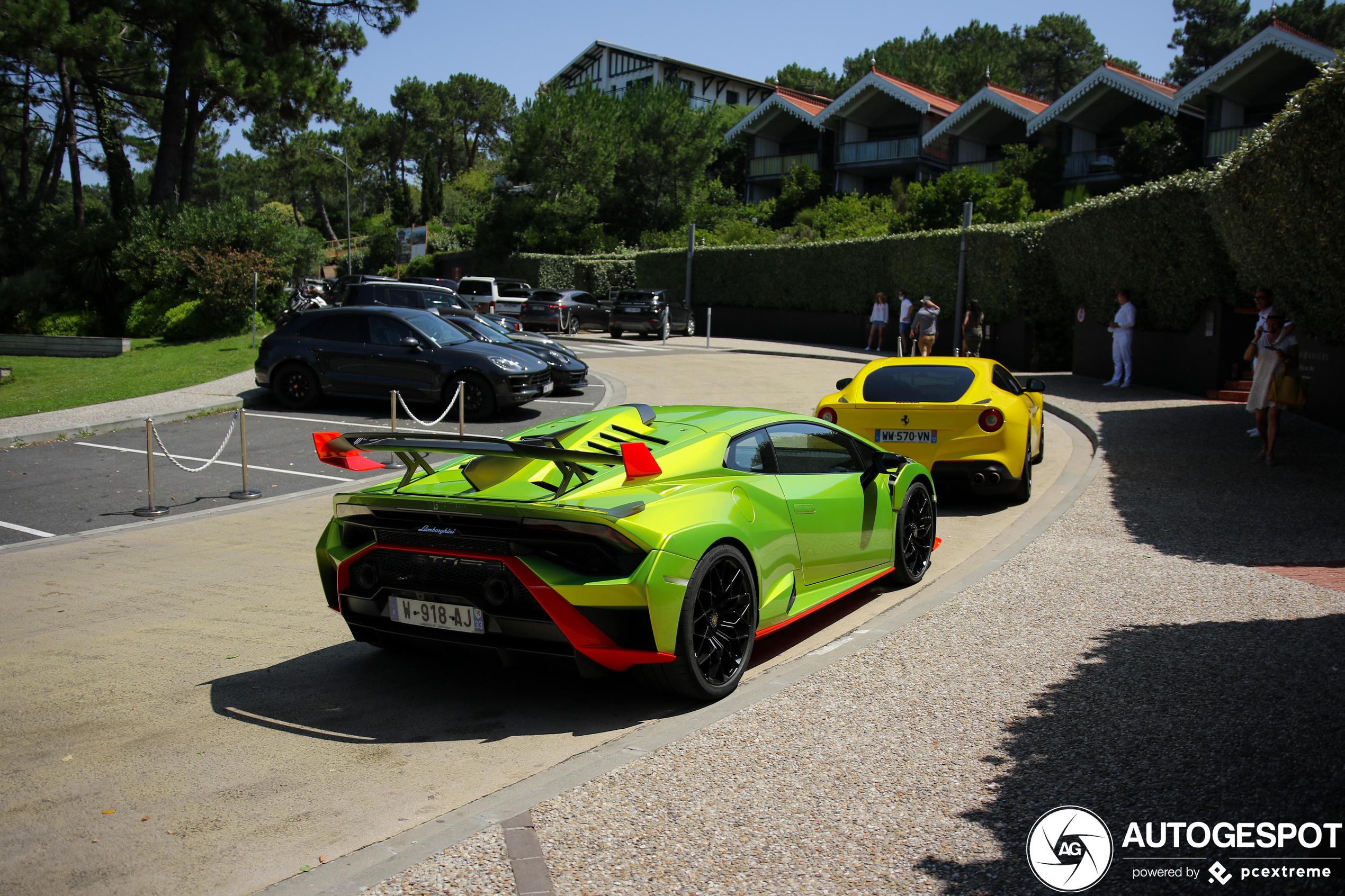 Lamborghini Huracán LP640-2 STO doet ons stralen