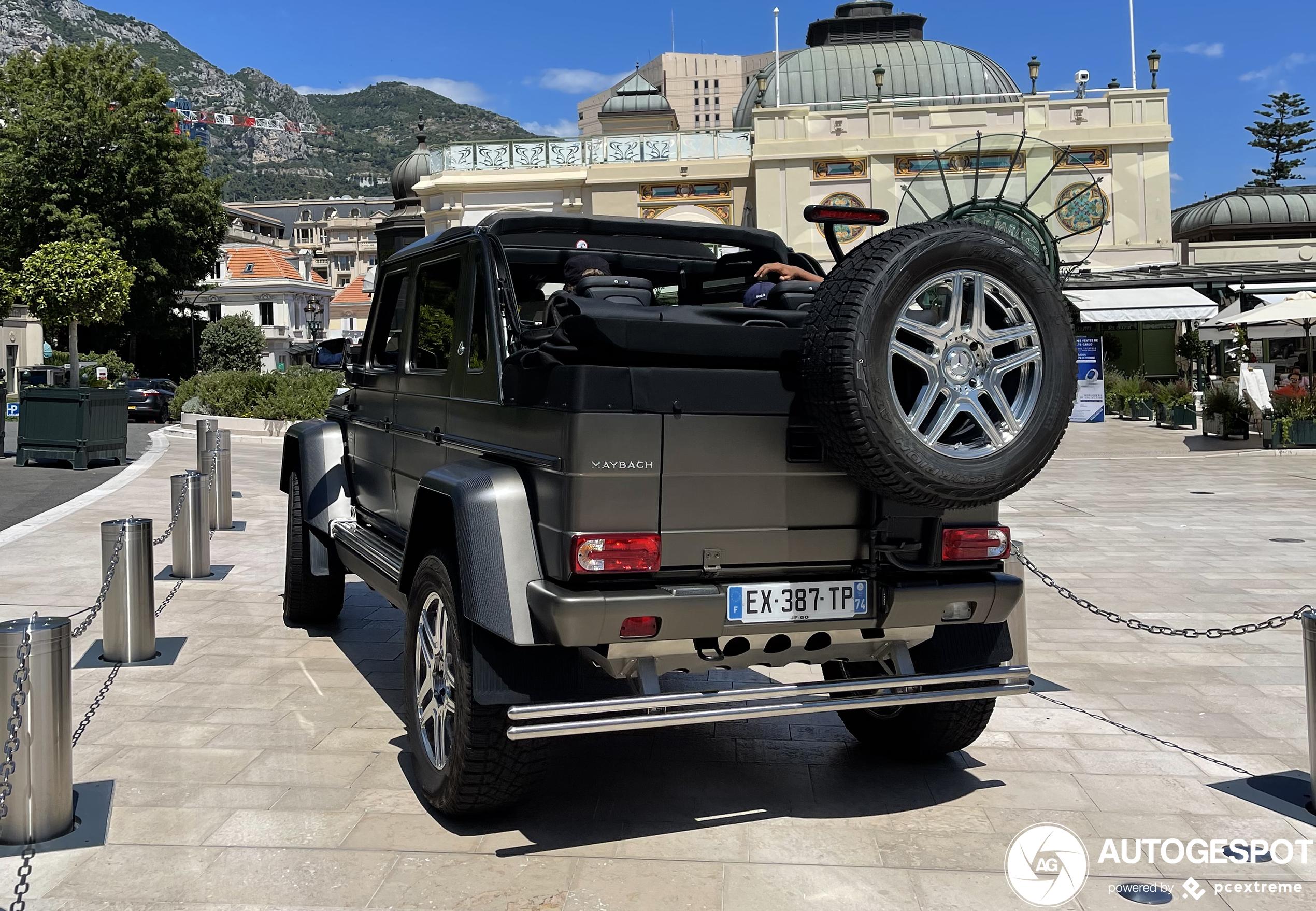 Baas boven baas: Mercedes-Maybach G 650 Landaulet