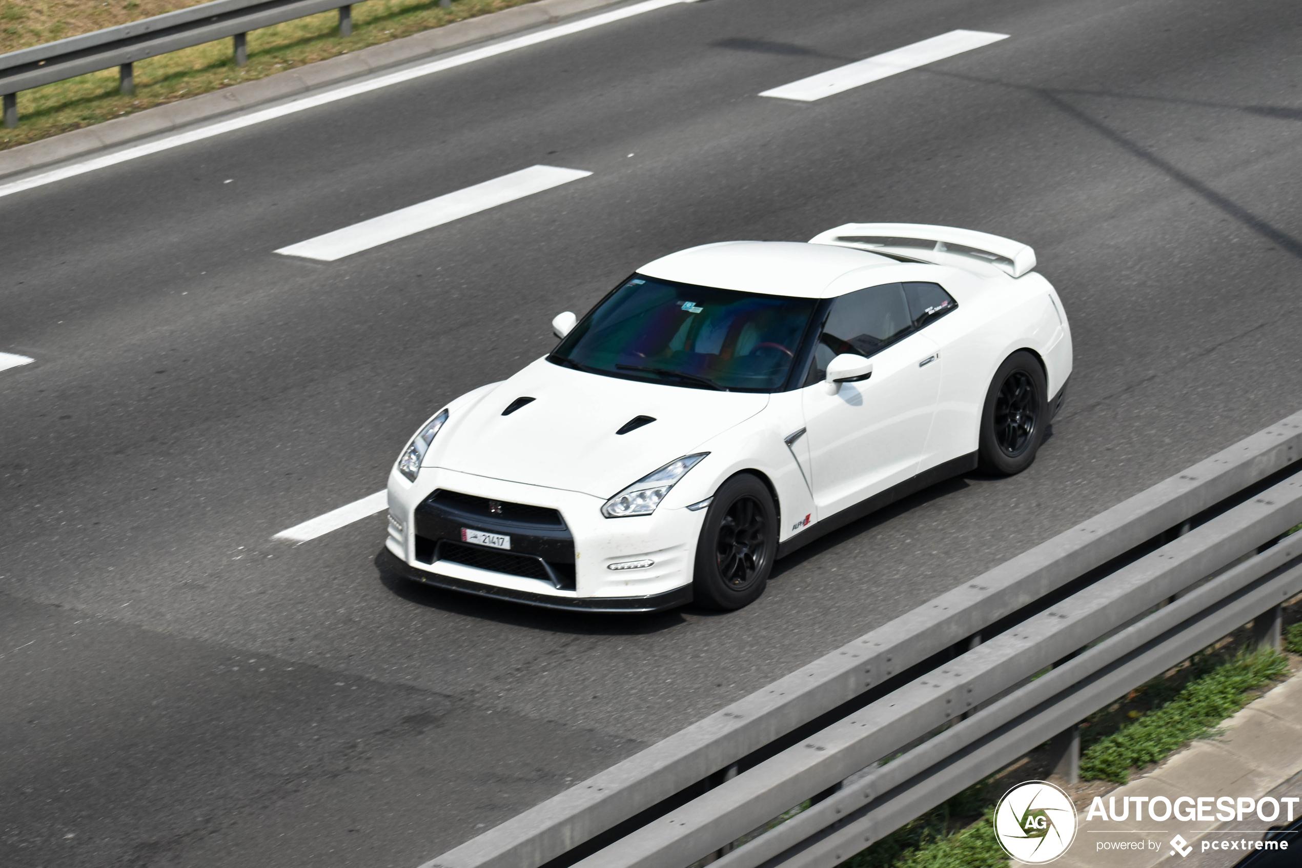 Nissan GT-R 2012 AMS Performance Alpha 12