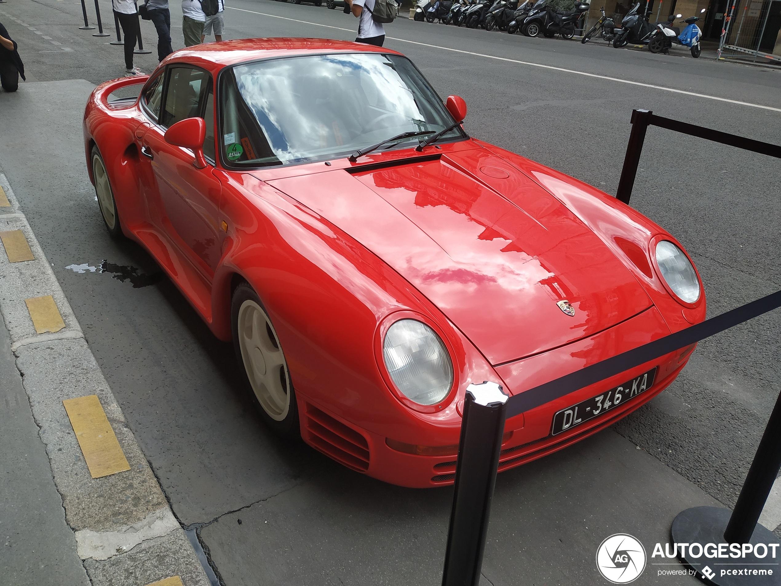 Porsche 959 S is nog net iets specialer