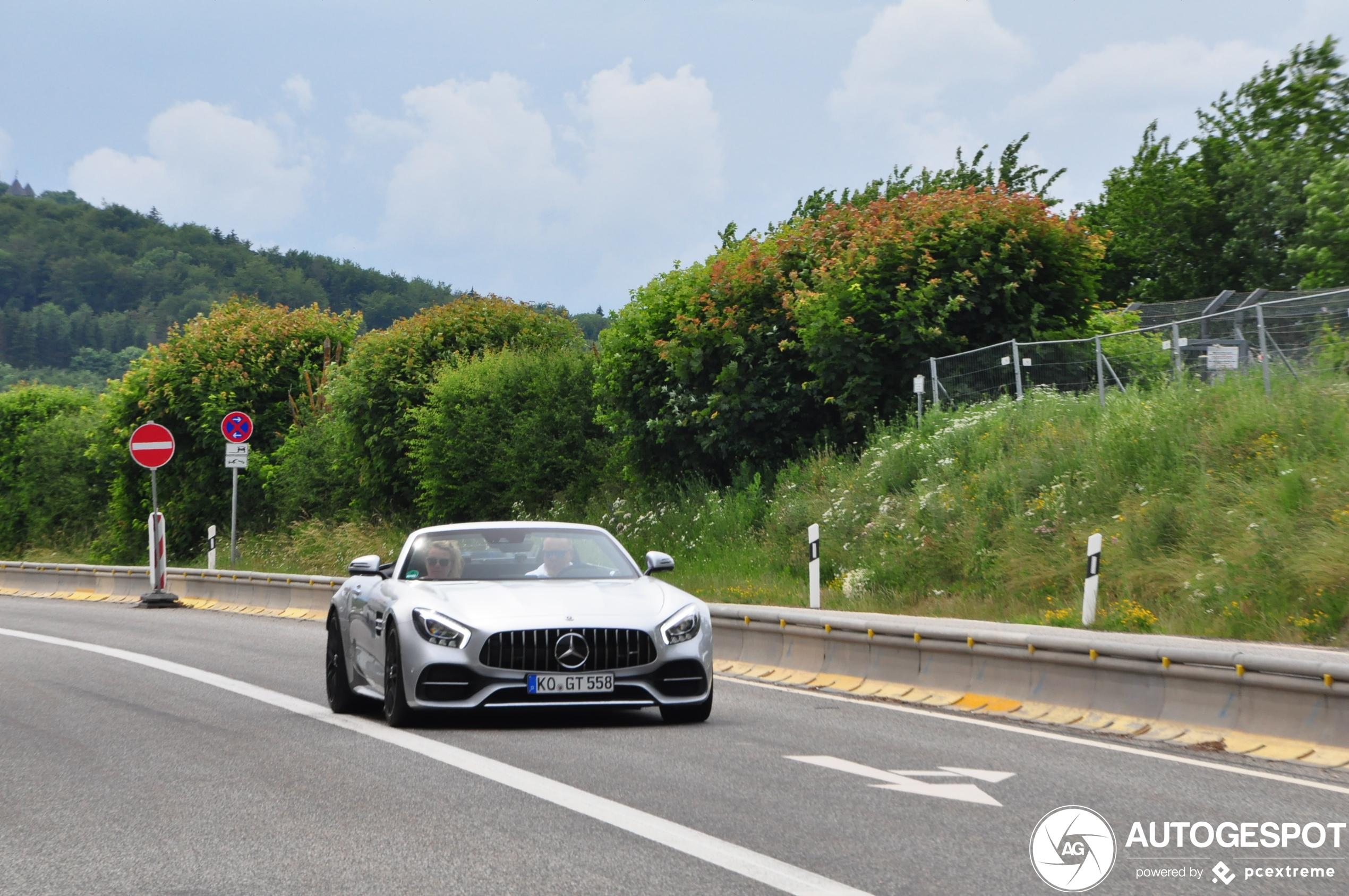 Mercedes-AMG GT C Roadster R190