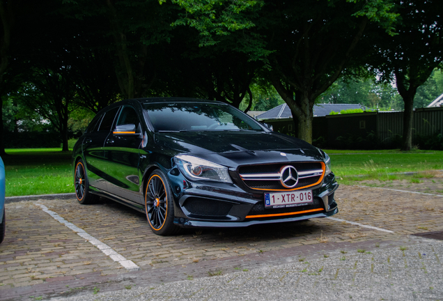 Mercedes-AMG CLA 45 Shooting Brake OrangeArt Edition