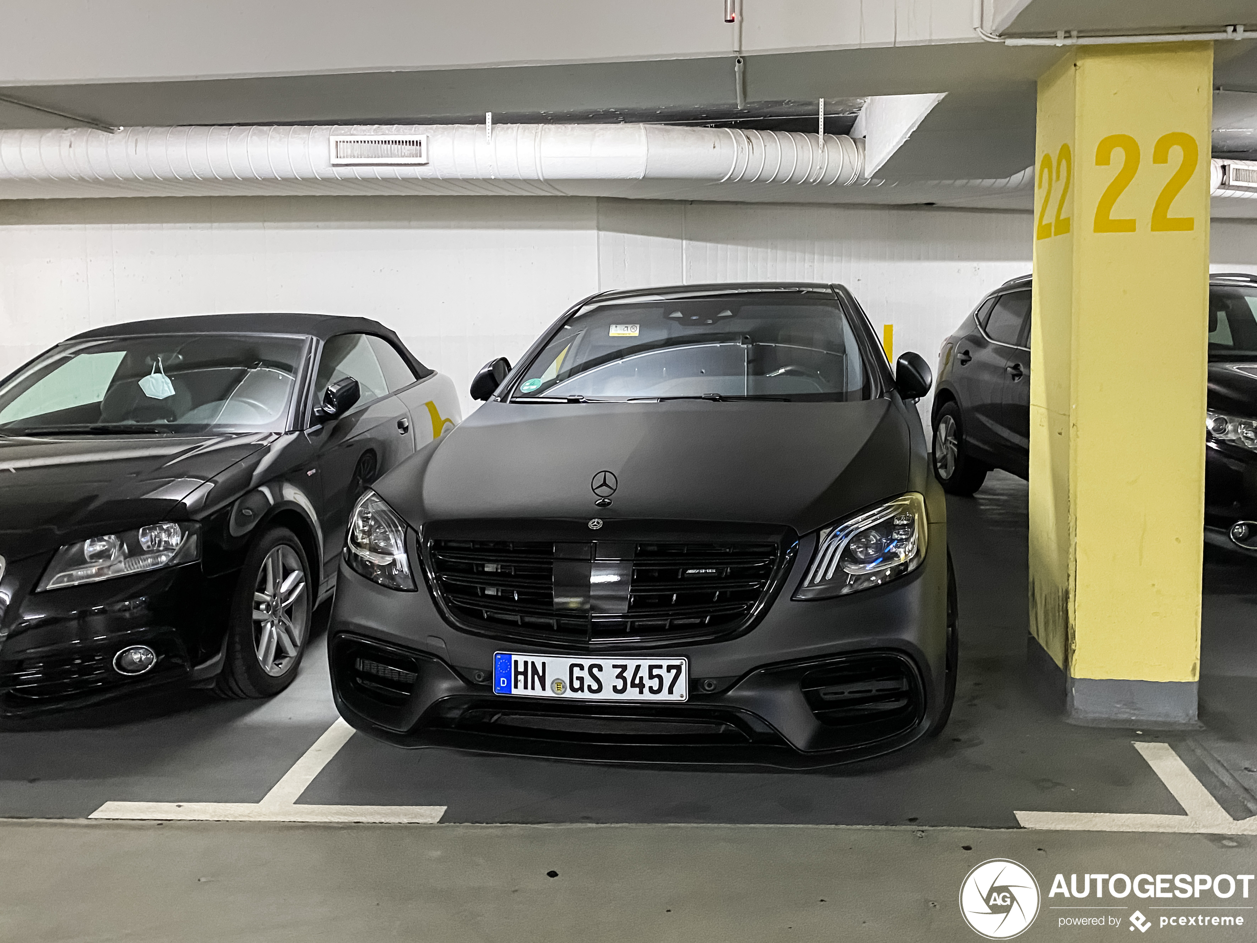 Mercedes-AMG S 63 V222 2017