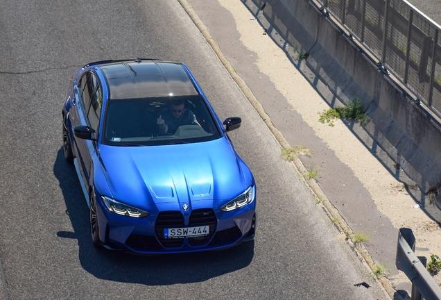 BMW M3 G80 Sedan Competition