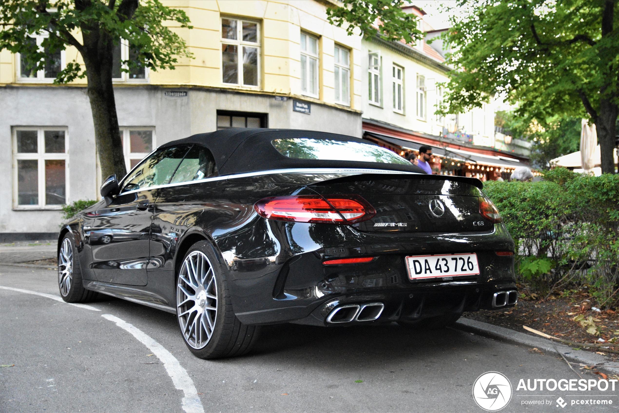 Mercedes-AMG C 63 Convertible A205 2018
