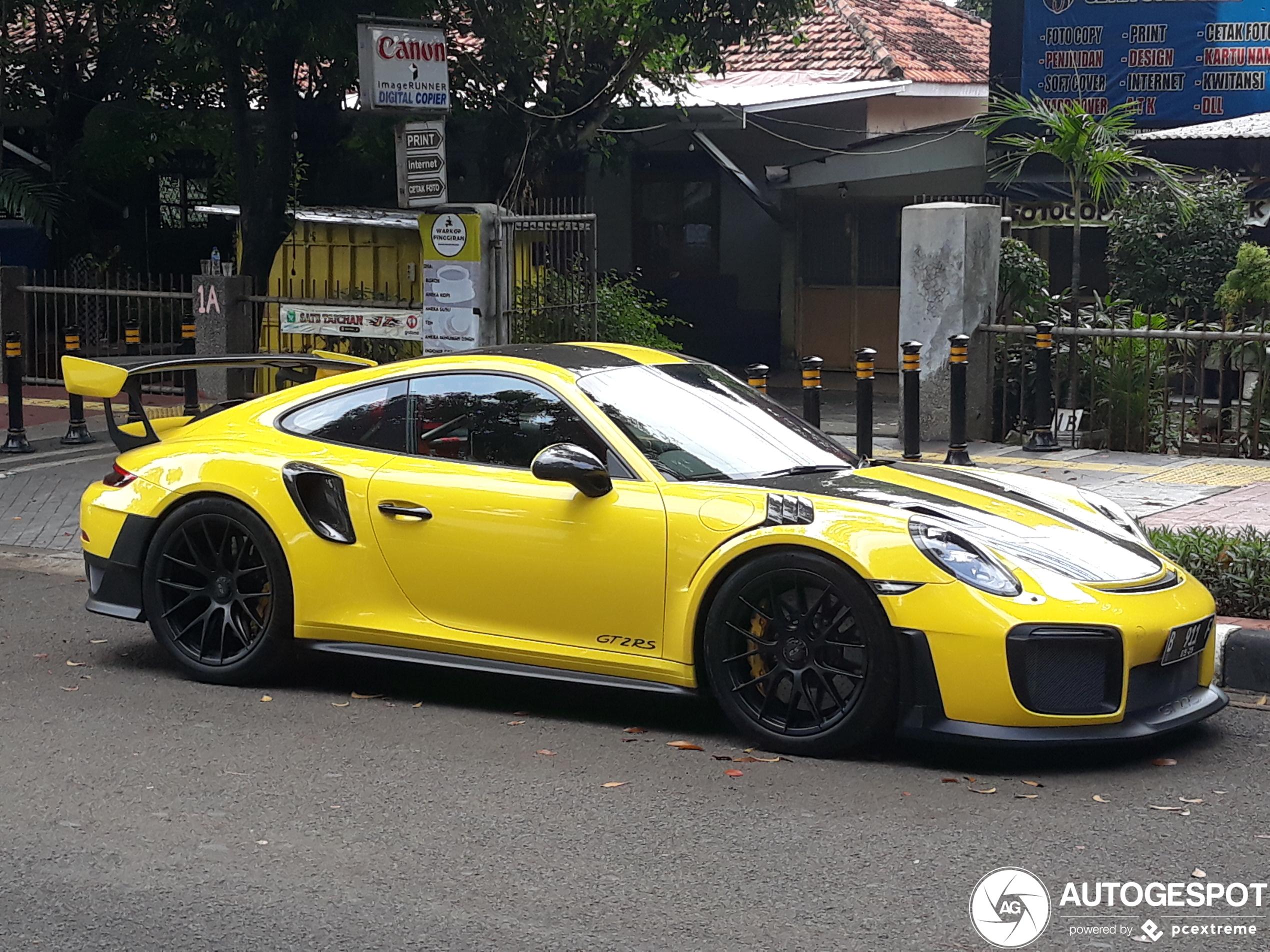 Porsche991 GT2 RS Weissach Package