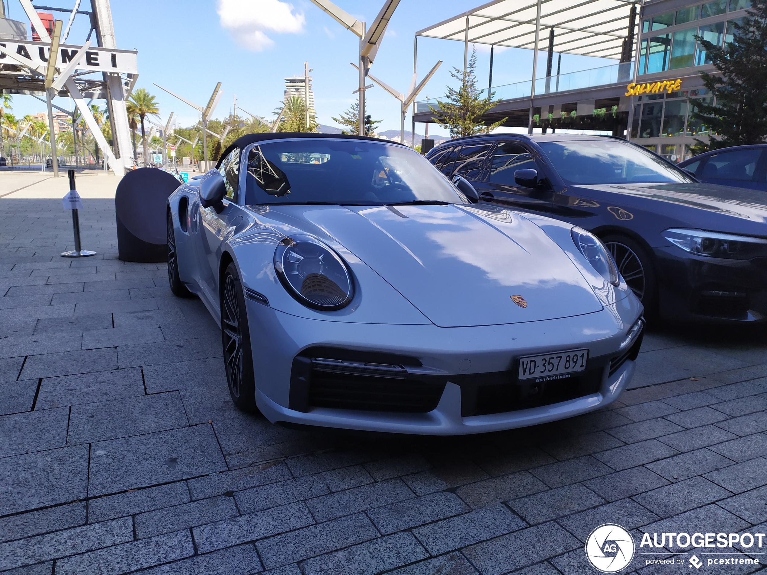 Porsche 992 Turbo Cabriolet