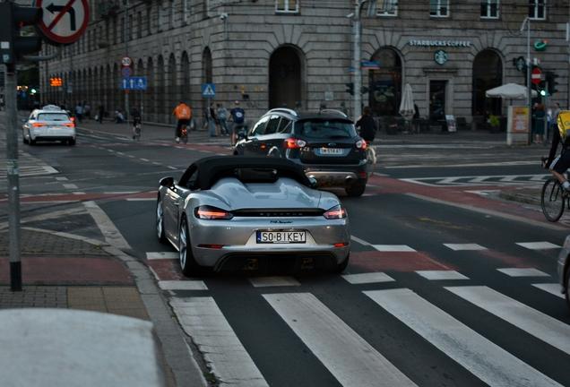 Porsche 718 Boxster Spyder