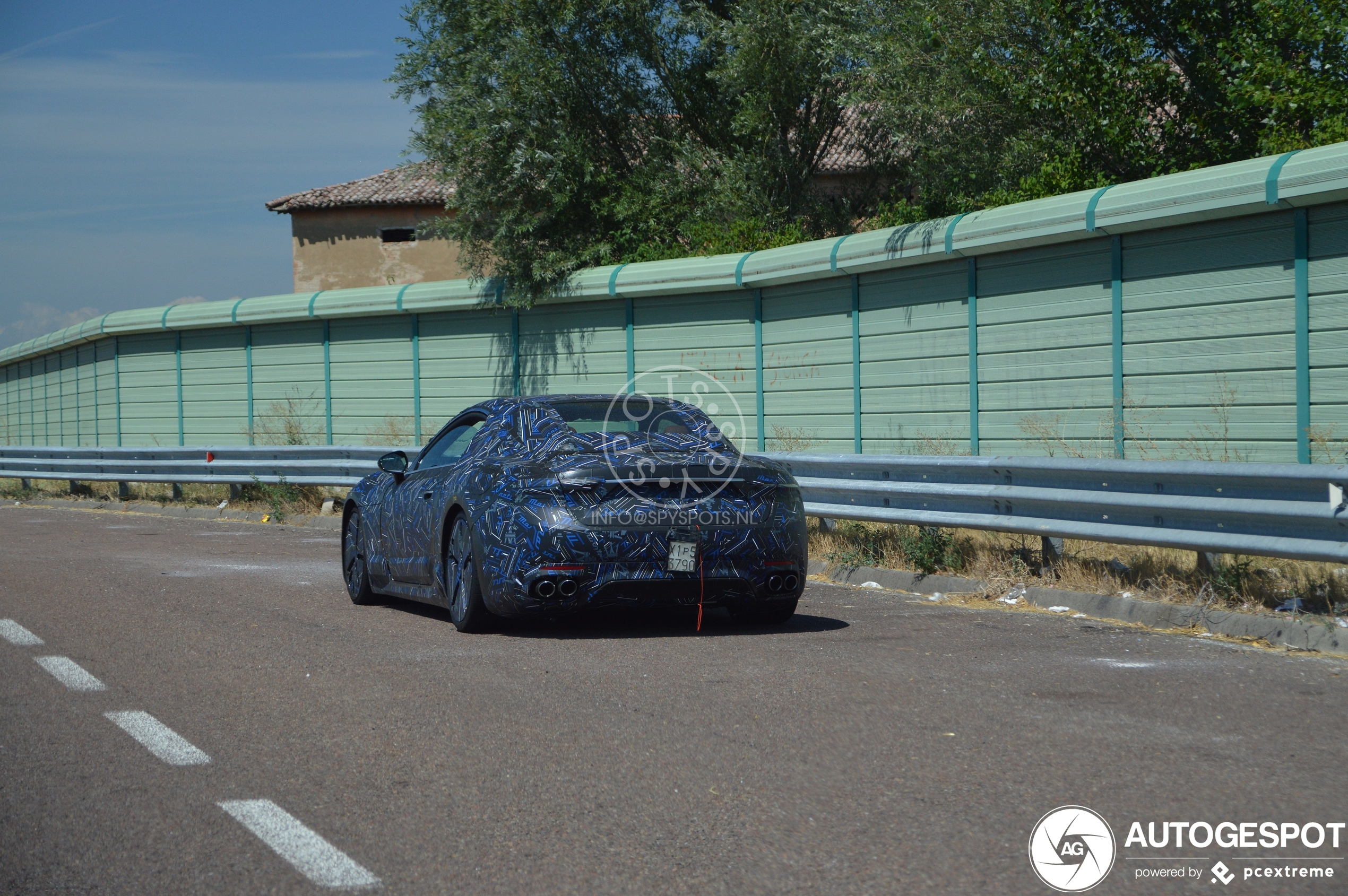 Maserati GranTurismo 2022 Mule