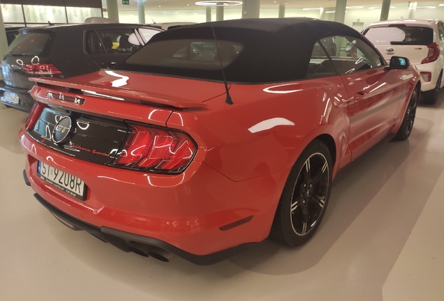 Ford Mustang GT California Special Convertible 2018