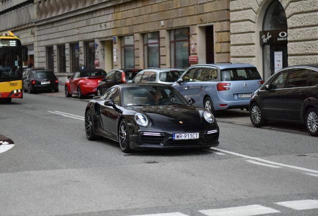 Porsche 991 Turbo S MkII