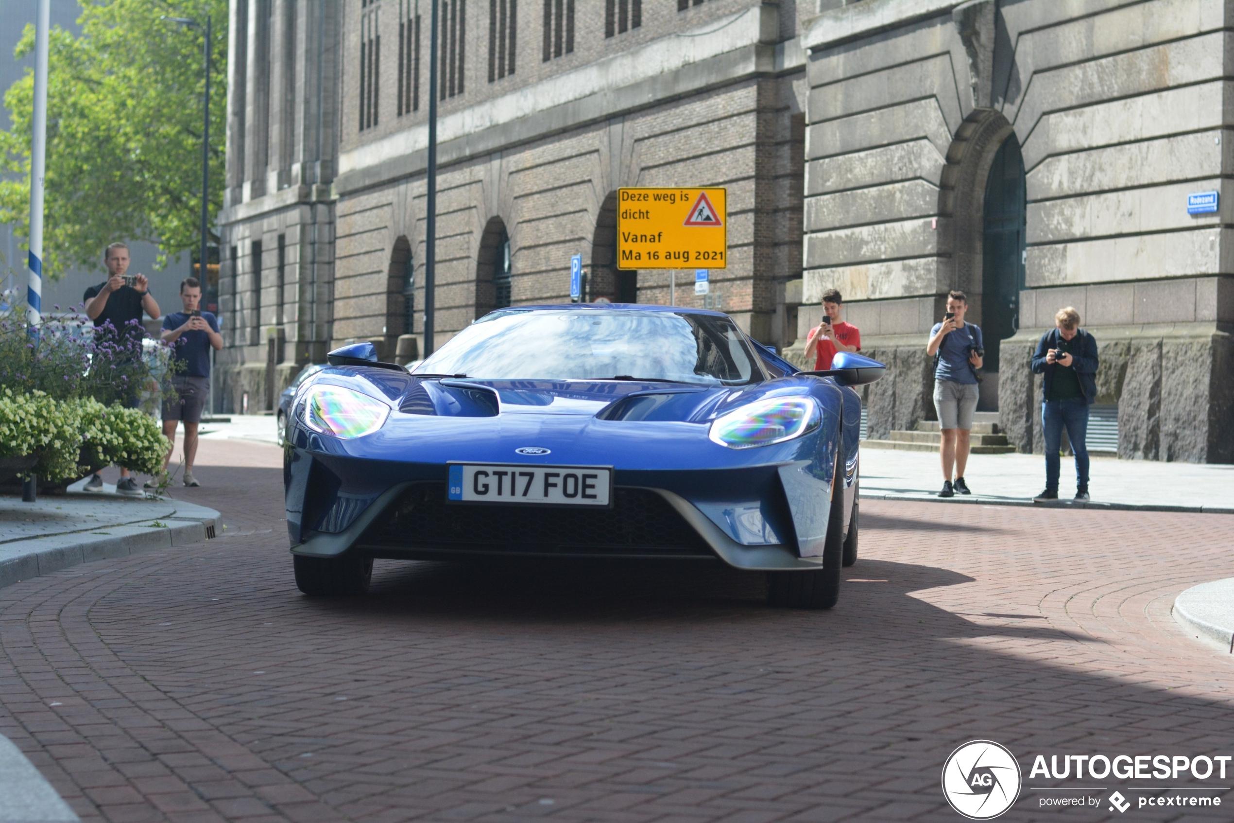 Ford GT is tijdelijk in Nederland