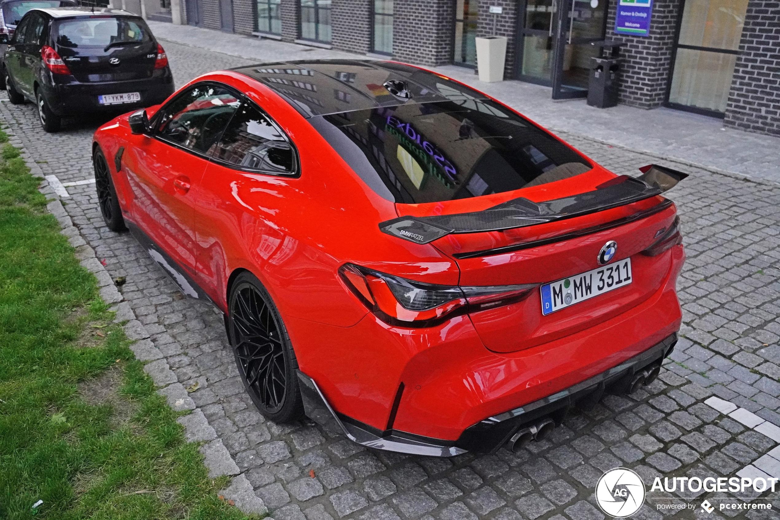 BMW M4 is volgehangen met Performance onderdelen