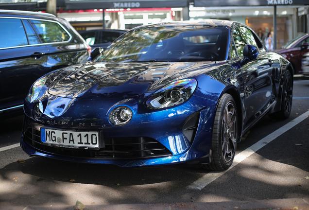 Alpine A110 2018 Legende Edition