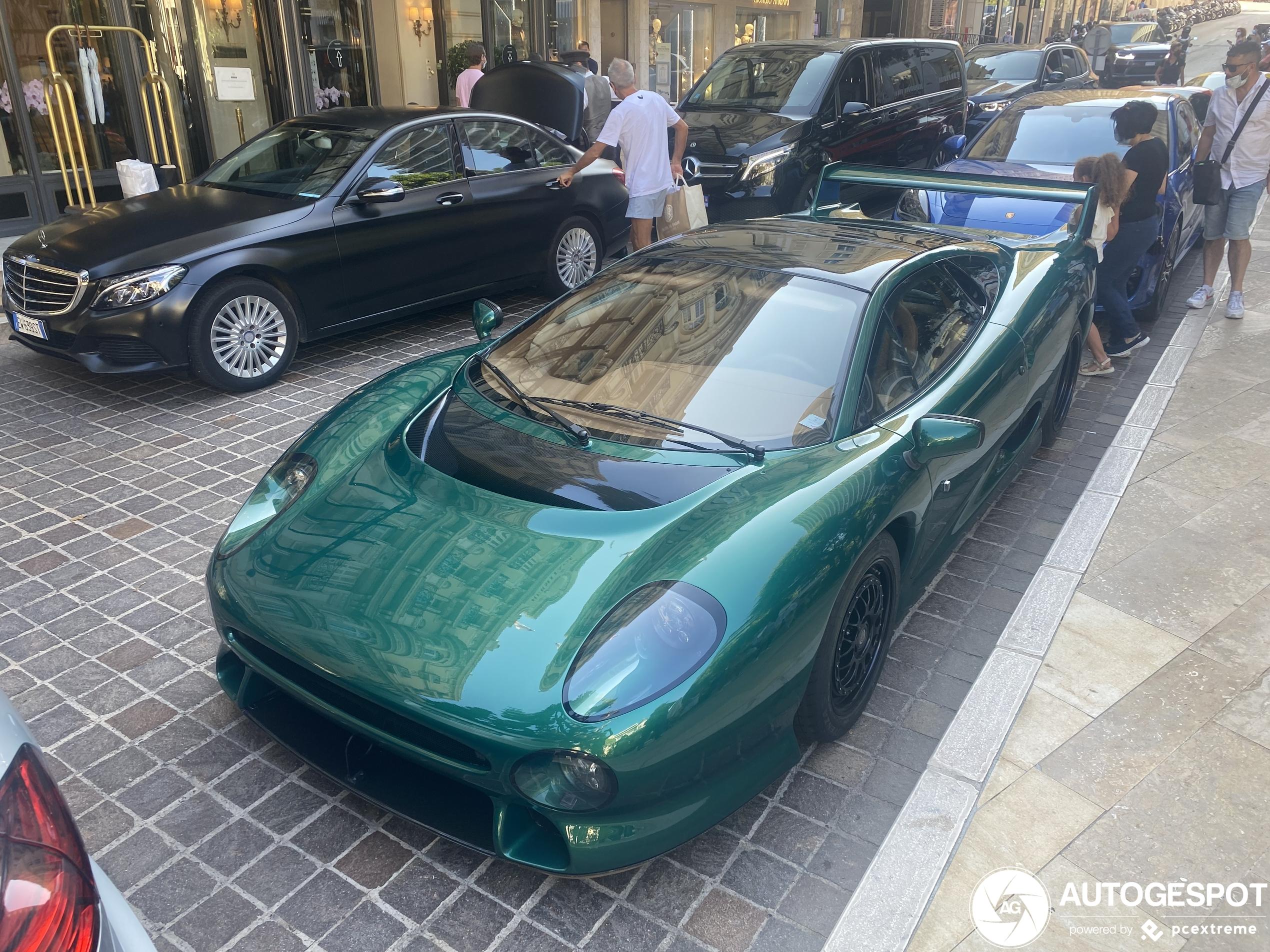 Monaco scoort weer: Jaguar XJ220S TWR