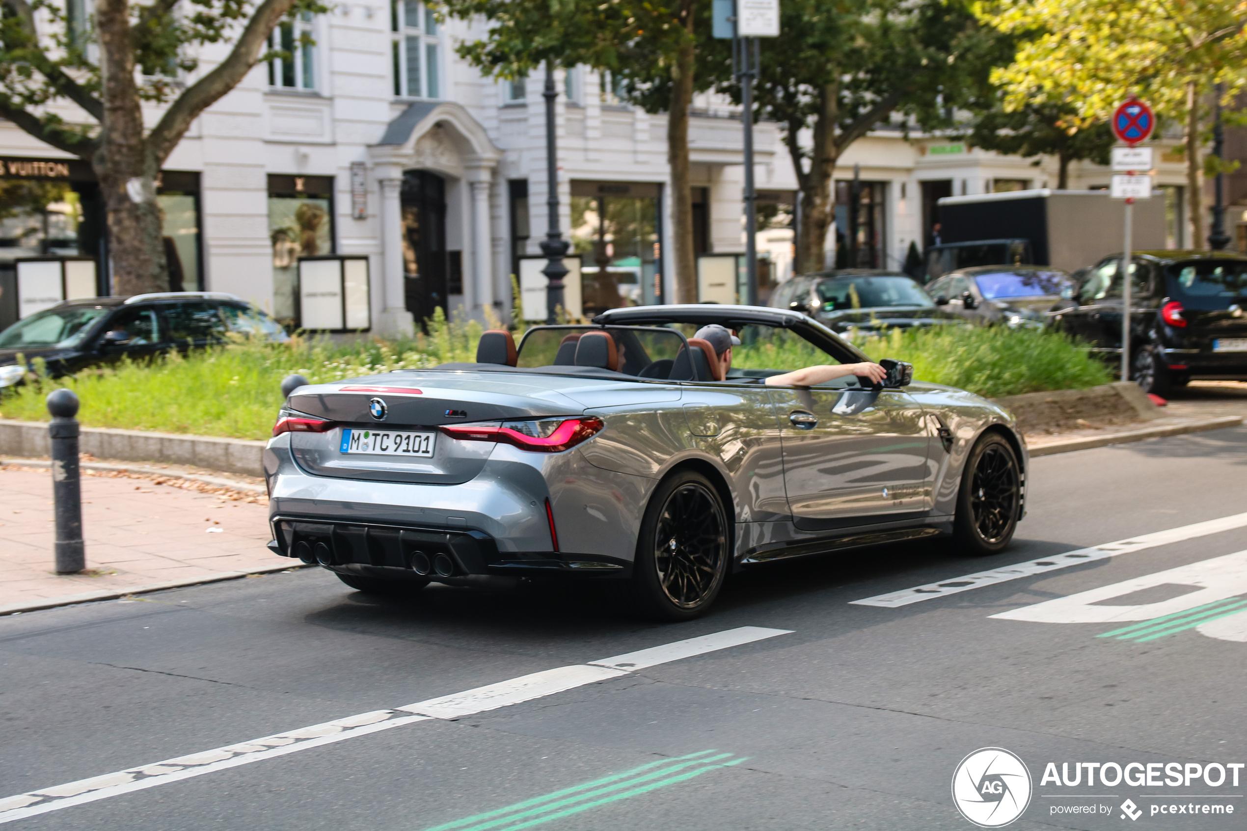 Berlijn pakt de primeur met eerste BMW M4 G83 Convertible Competition
