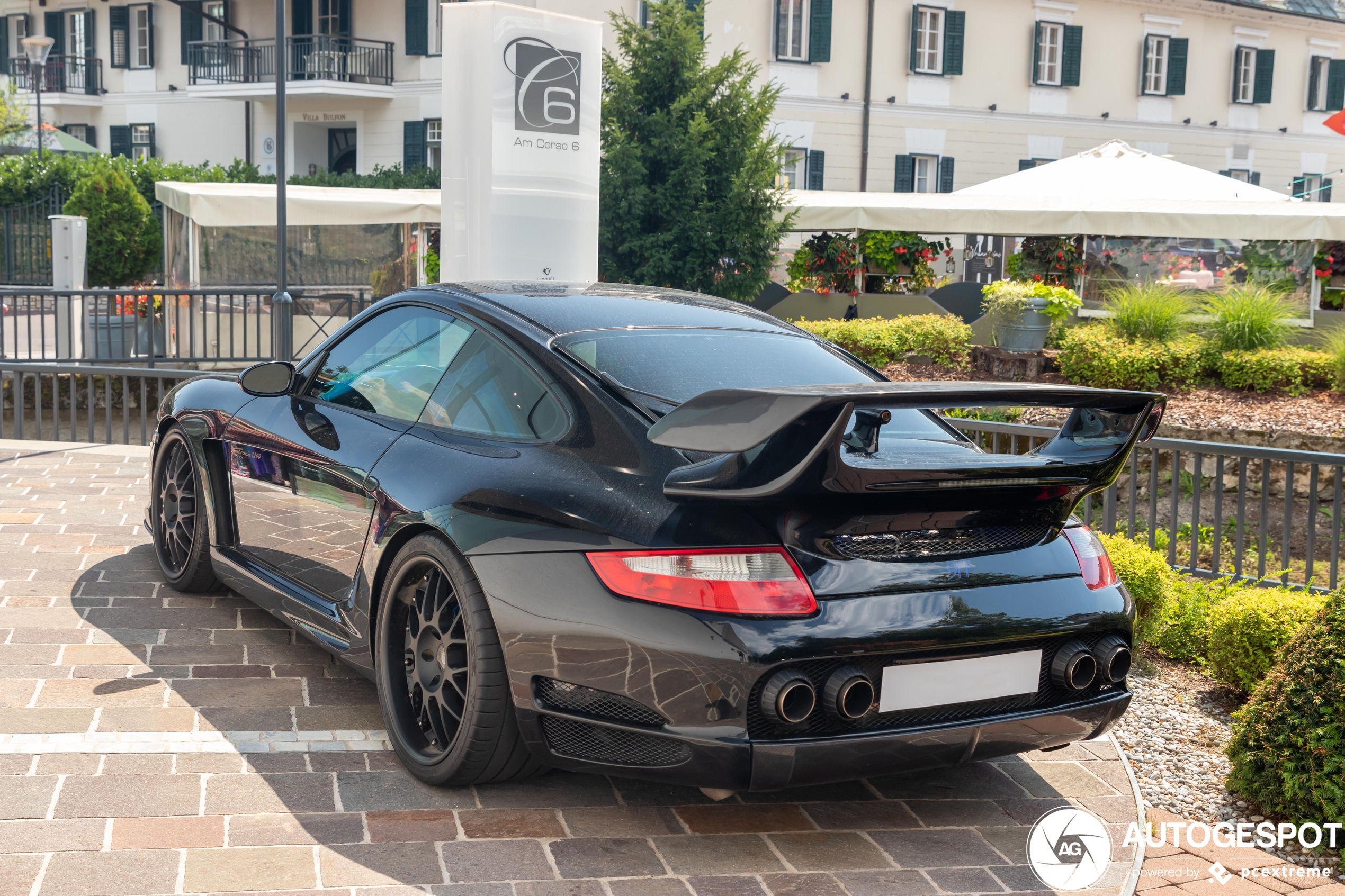 This Porsche is tuned by multiple tuners