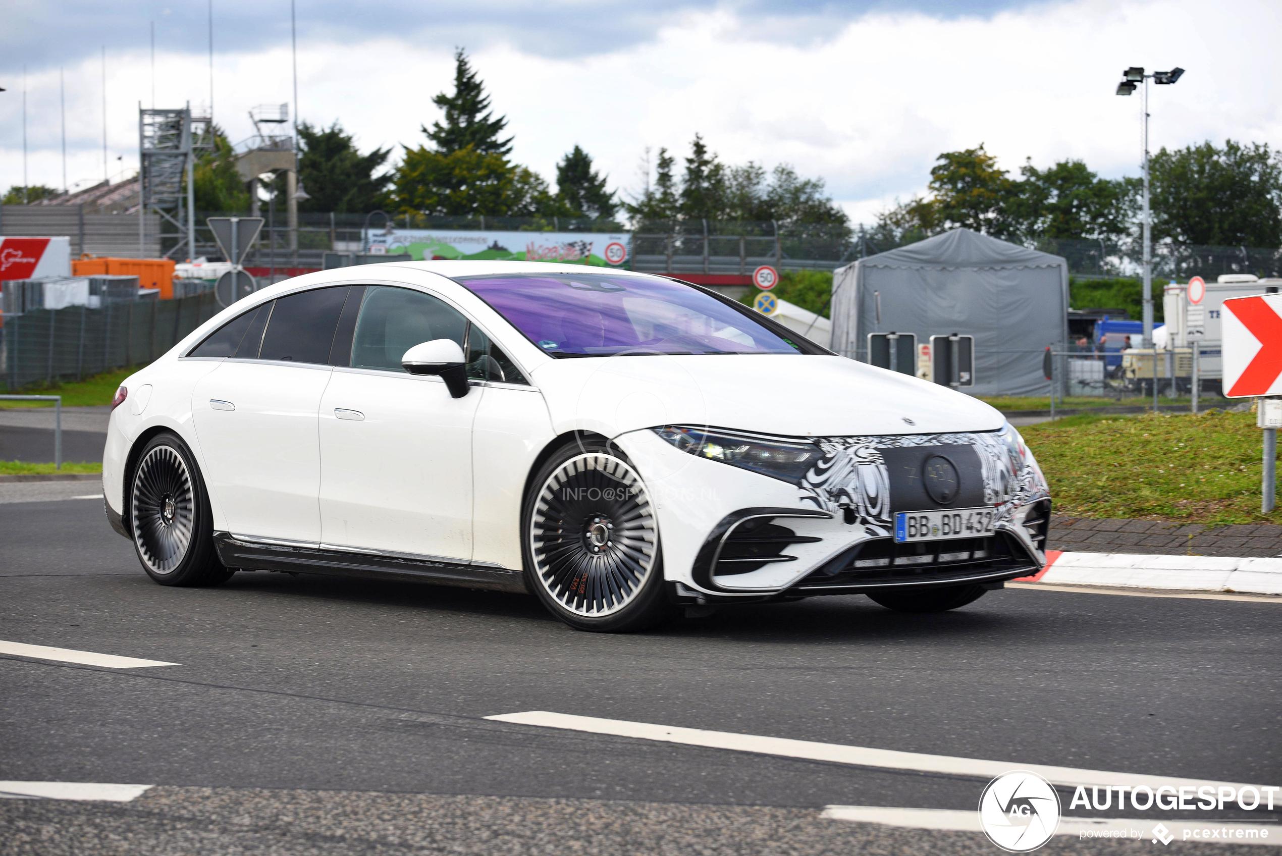 Mercedes-AMG EQS wordt eerste elektrische AMG