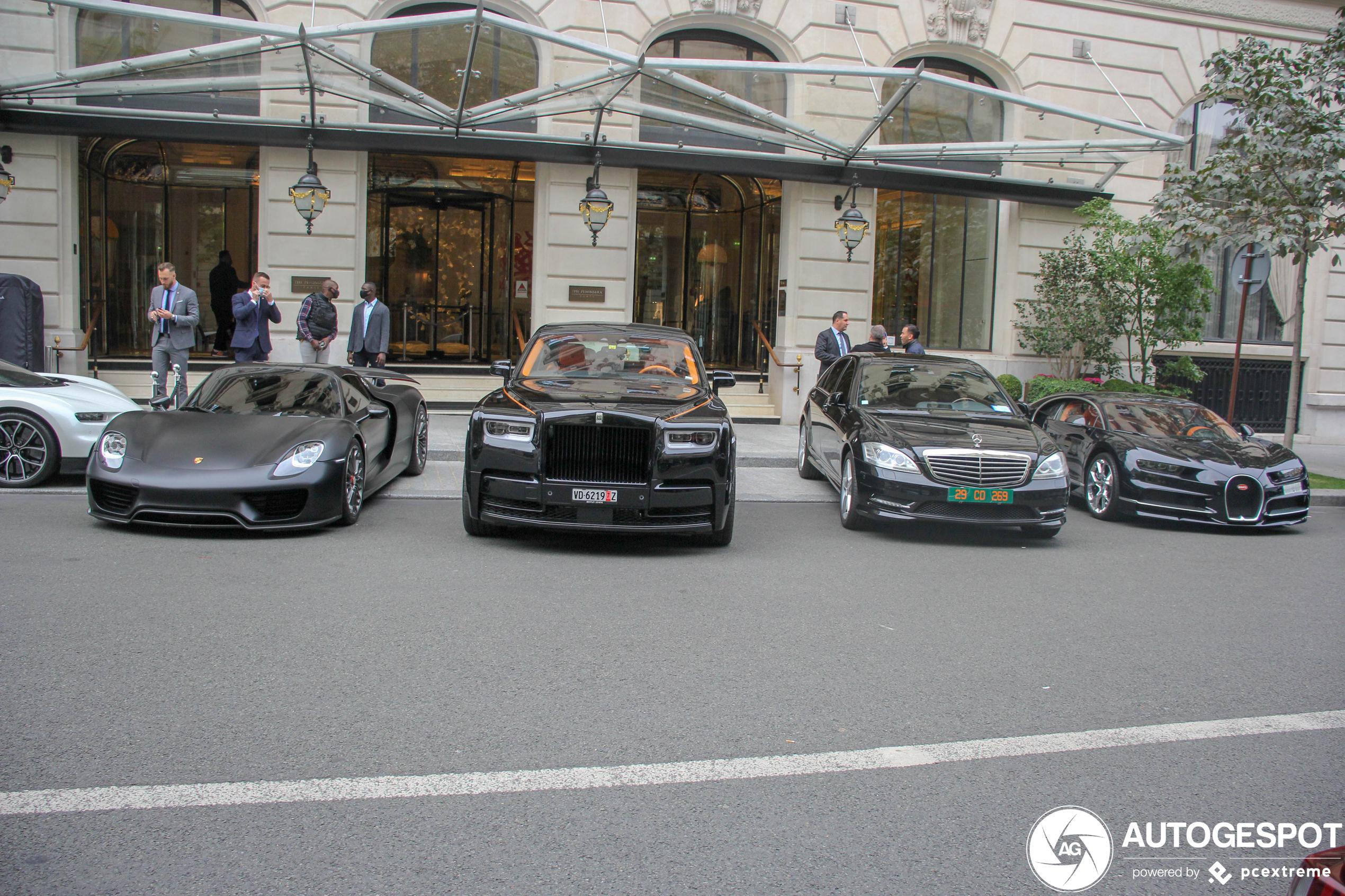 Rolls-Royce Phantom VIII EWB is meest comfortabele uit deze combo