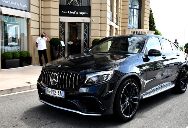 Mercedes-AMG GLC 63 Coupe C253 2018