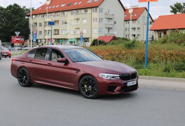 BMW M5 F90 First Edition 2018
