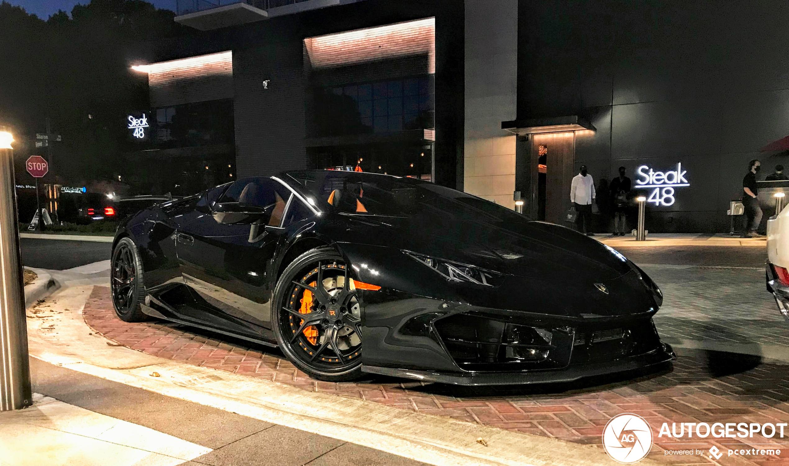 Vorsteiner weet de Lamborghini Huracán LP580-2 Spyder leuk aan te pakken
