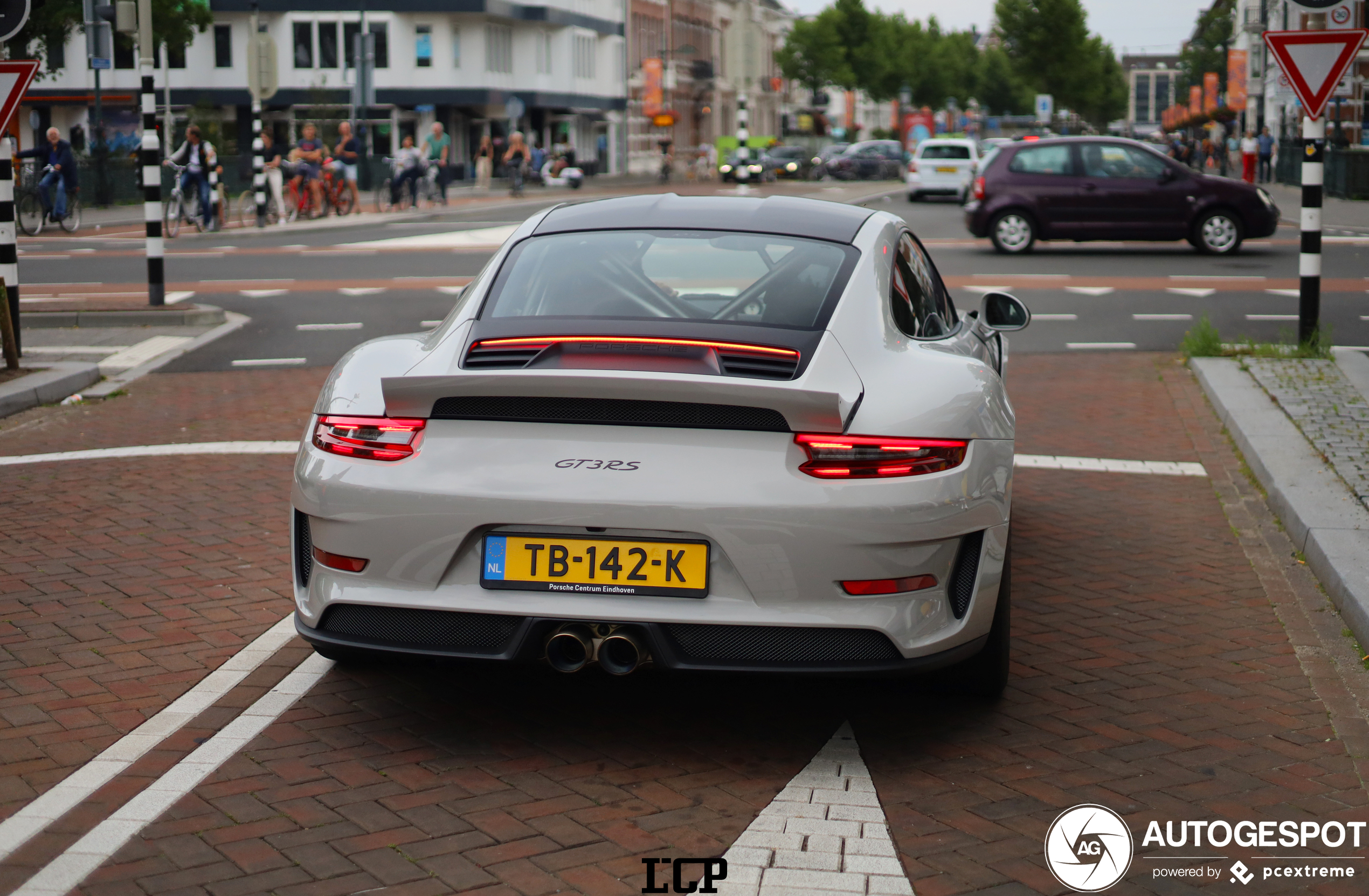 Blijft apart een Porsche 991 GT3 RS zonder spoiler
