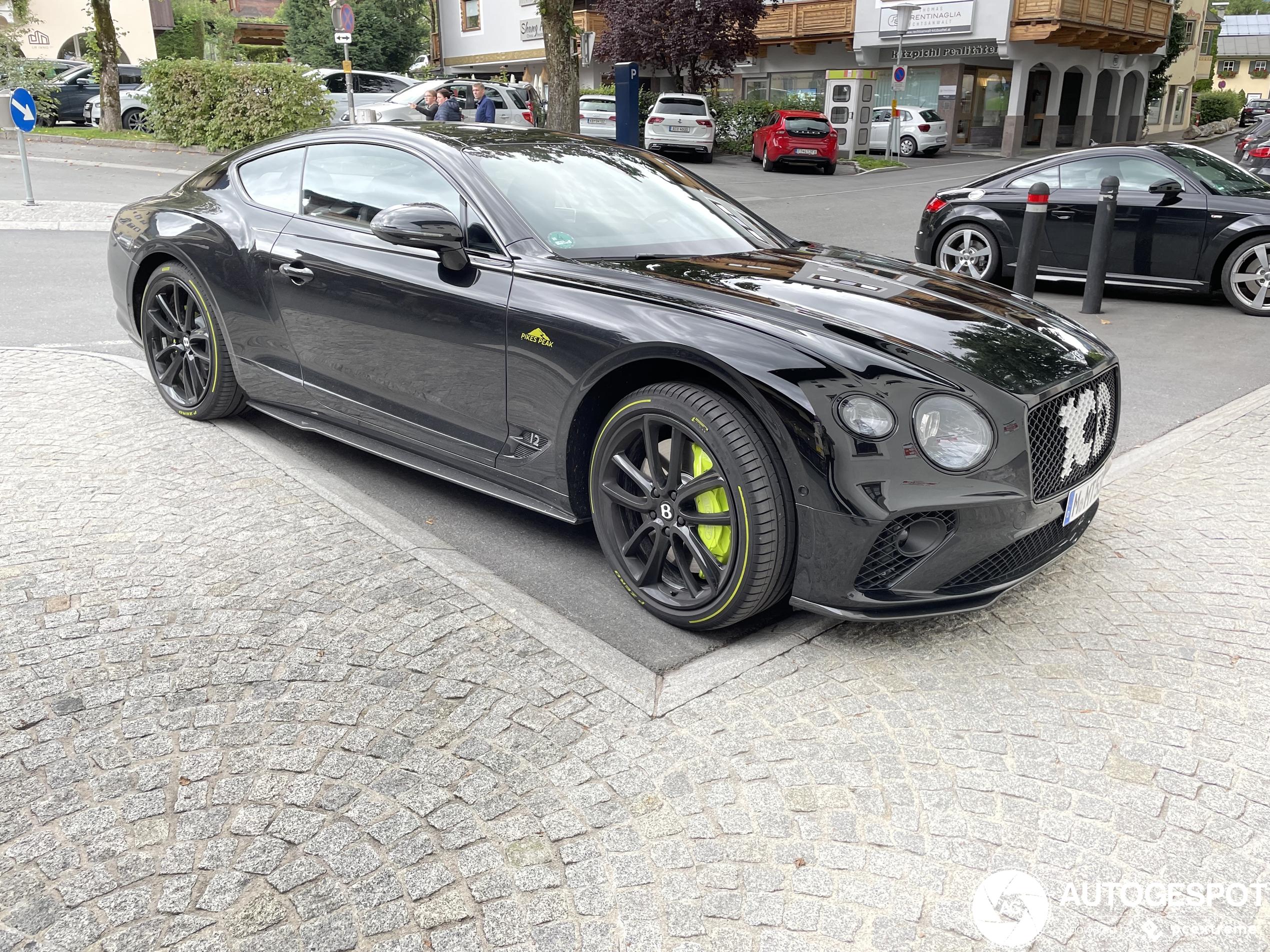 Bentley Continental GT Pikes Peak is exclusief speeltje