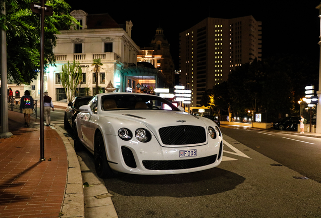 Bentley Continental Supersports Coupé