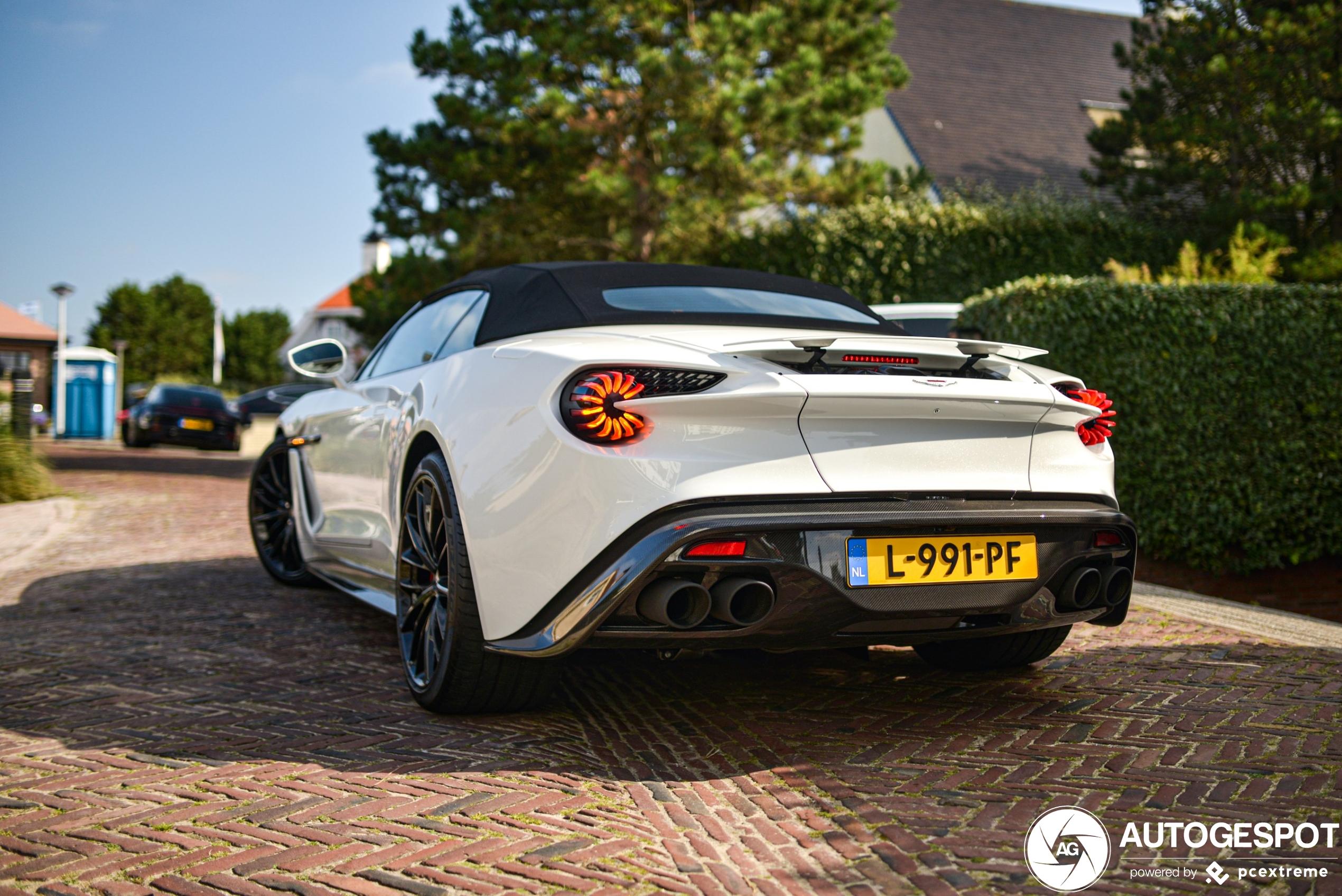 Wow! Nieuwe Aston Martin Vanquish Volante Zagato in Noordwijk