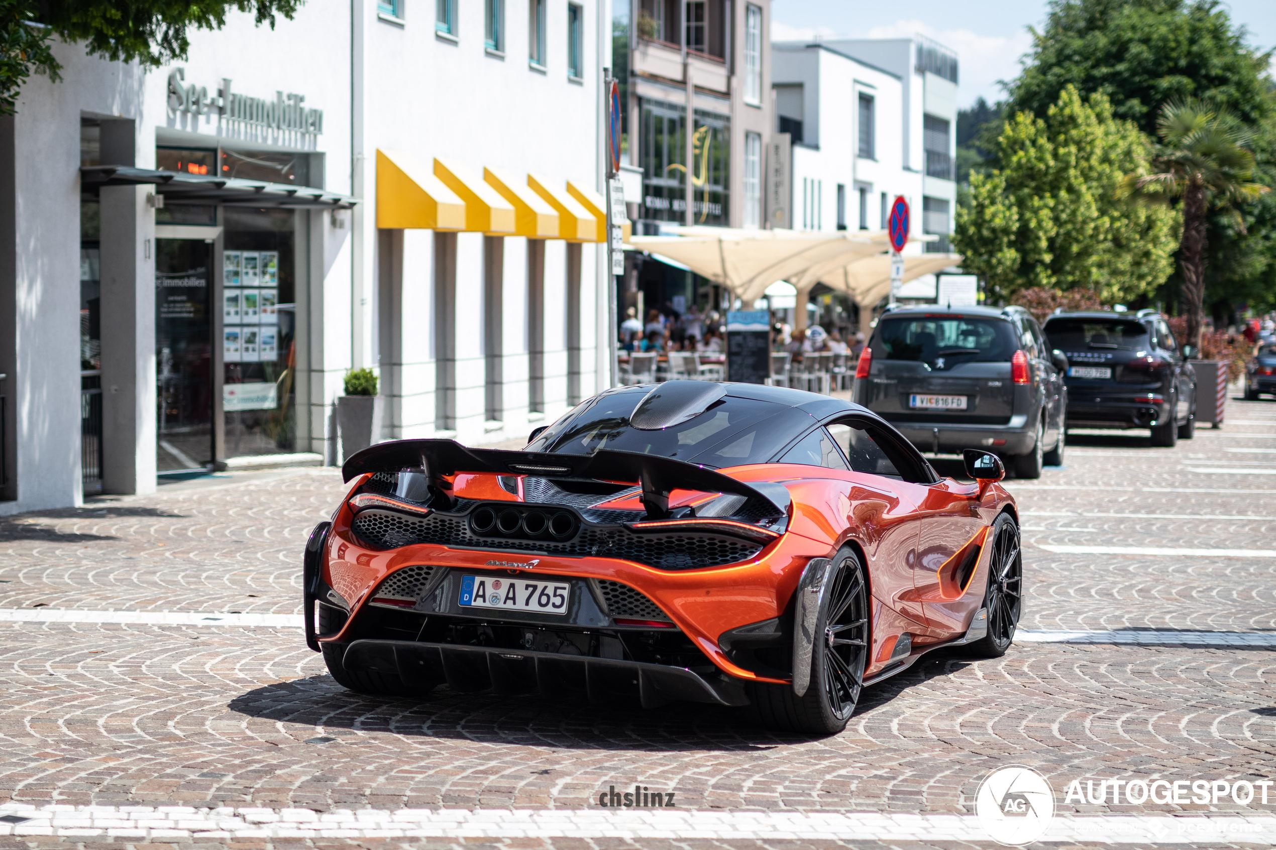 McLaren 765LT heeft kleine behandeling van Novitec gekregen