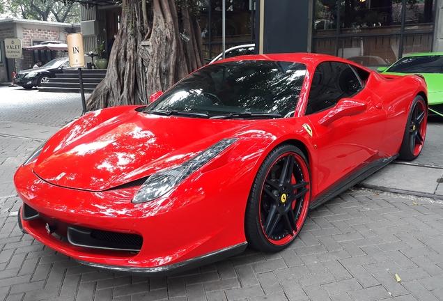 Ferrari 458 Italia Novitec Rosso