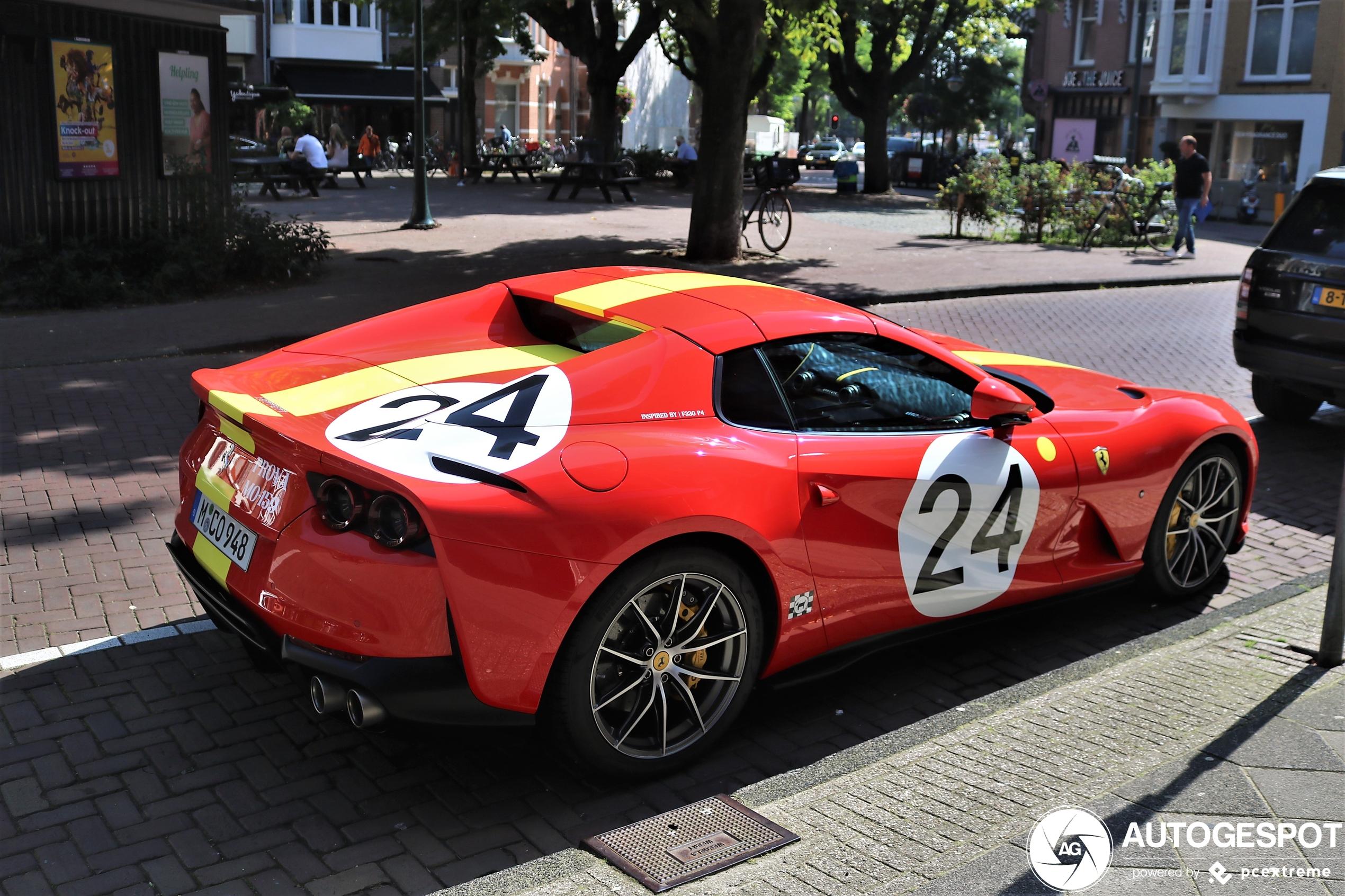 Ferrari 812 GTS heeft livery geïnspireerd op Ferrari 330 P4